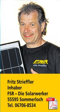 energiewende f rs eigenheim lohnt sich immer noch fsr die solarwerker. Black Bedroom Furniture Sets. Home Design Ideas